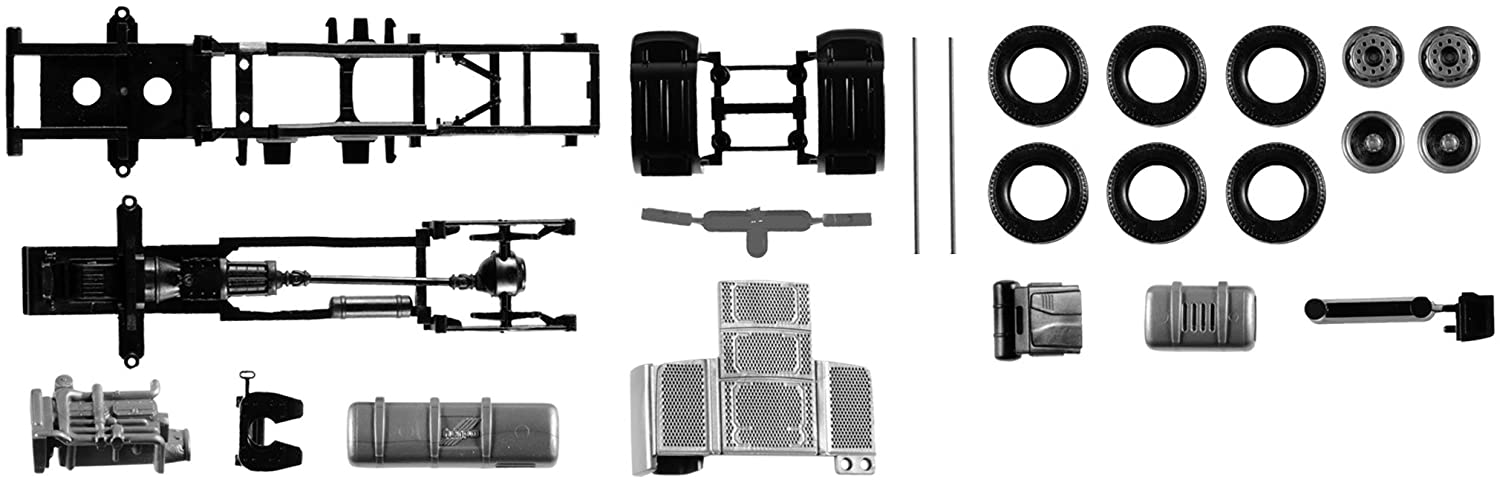 Herpa 084567 – DAF Xf Euro 6 Without Chassis Panel, 2 Stück