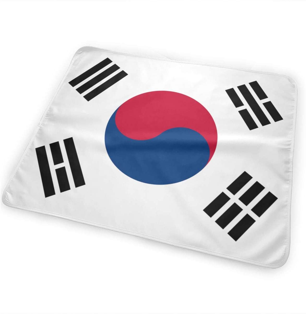 The South Korean Flag Breathable Urine Mat Waterproof Changing Pad for Baby Washable Mattress Pad Sheet Protector