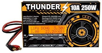 2019 HOTA Thunder 250W 10A DC Balance Charger /Discharger