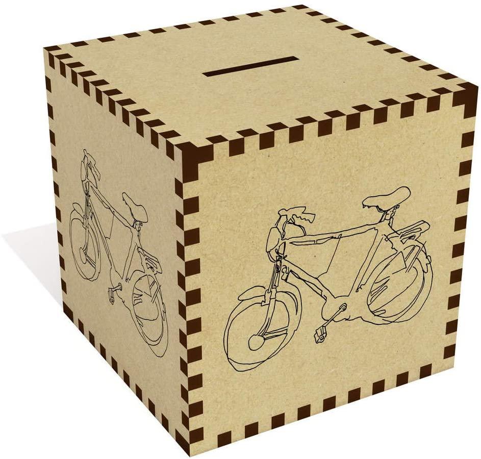 Azeeda Large 'Bicycle' Money Box / Piggy Bank (MB00072074)