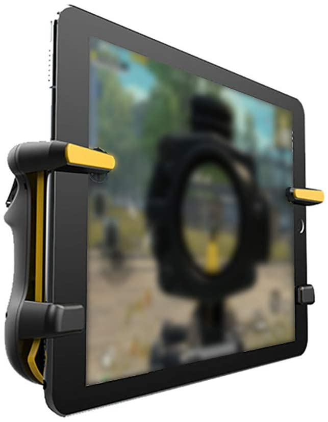 Gamepad Joystick, Adults Kids High Frequency Better View Shooting Game Tablet Trigger Gamepad Joystick For IPad, Suitable for Home, Travel, Bedroom, Living Room and So On