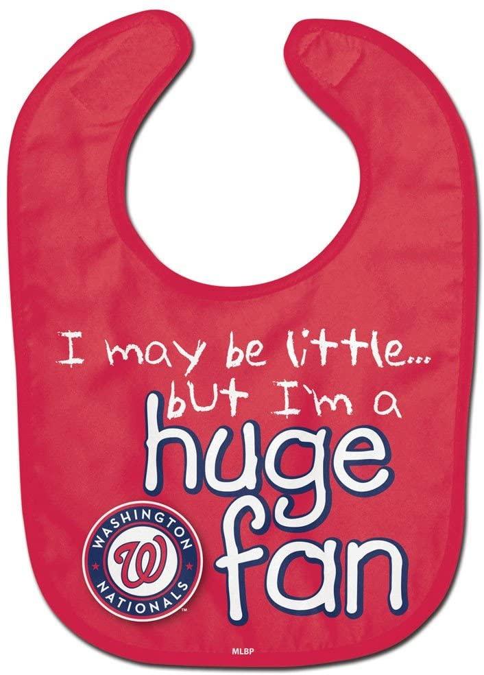 WinCraft MLB Washington Nationals WCRA1977114 All Pro Baby Bib