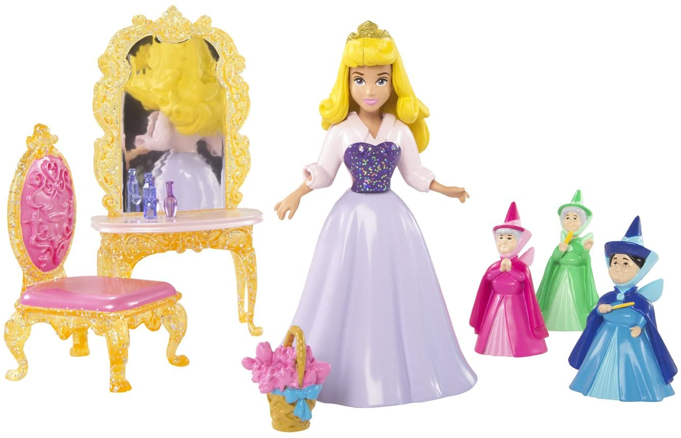 Disney Princess Favorite Moments Fairytale Scenes Sleeping Beauty Playset