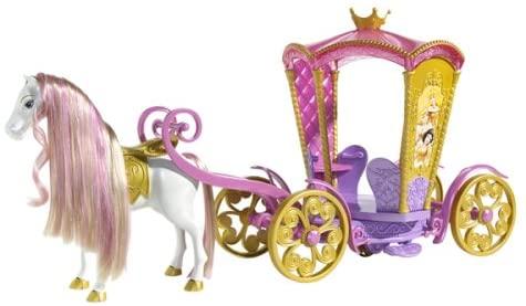 Disney Enchanted Tales Musical Carousel Coach Playset