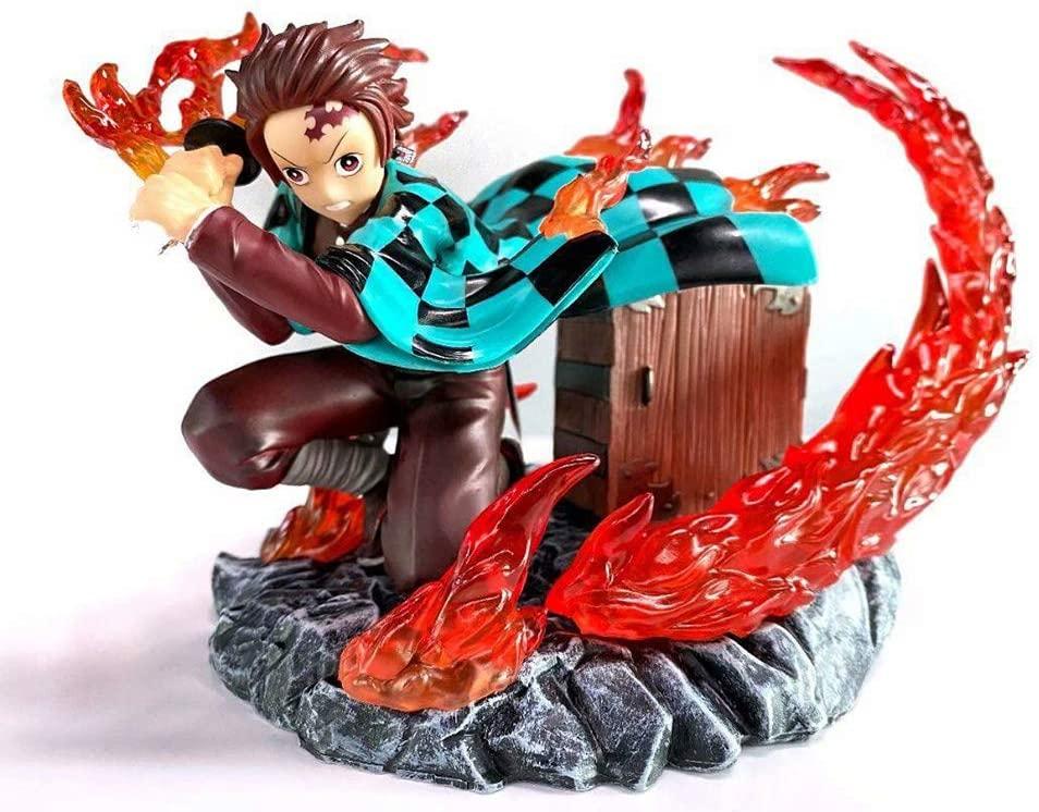 HIMFL Action Figure Demon Slayer Kimetsu no Yaiba PVC Figurine Model Doll Collectible Figure Toys