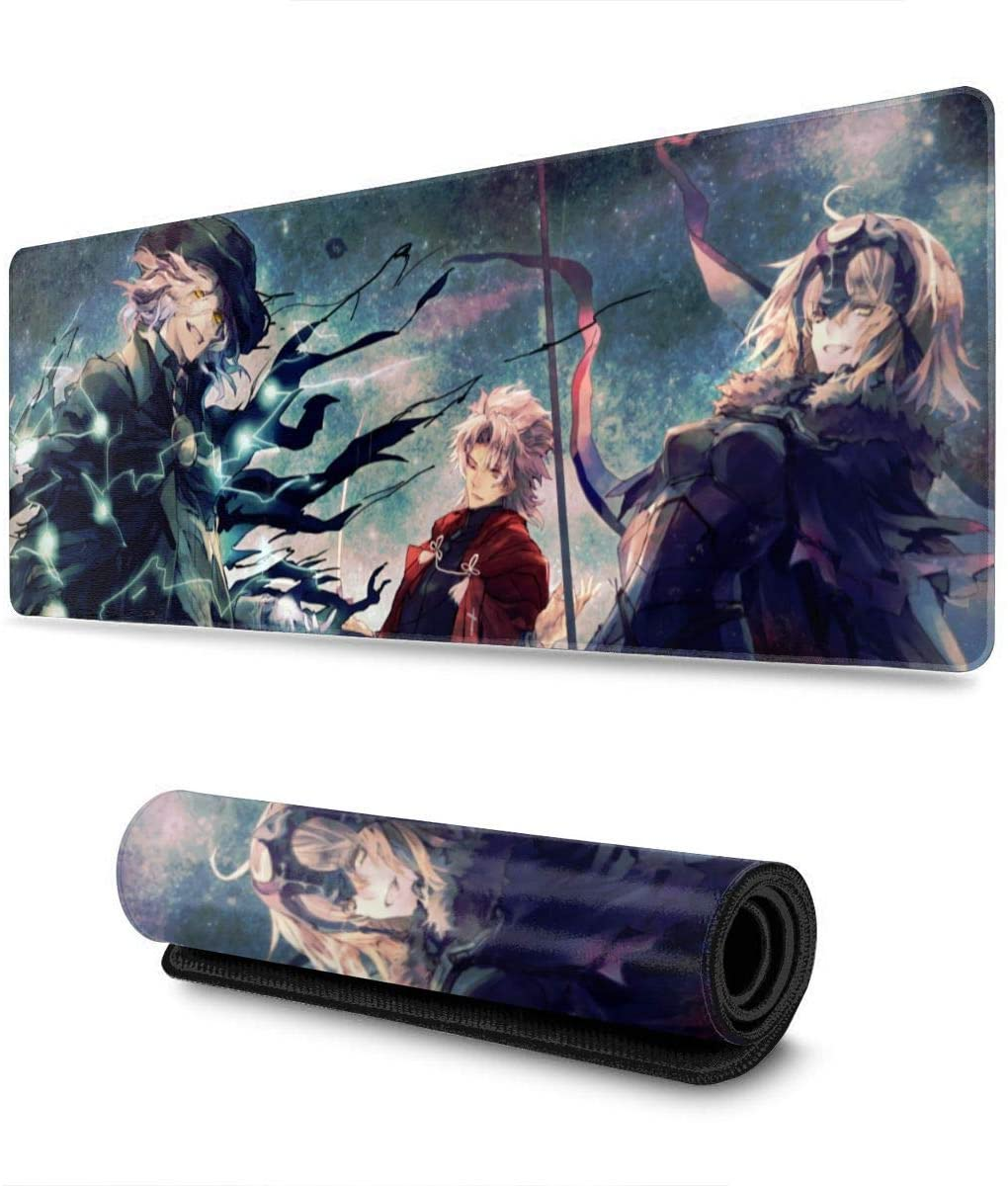 Fate Grand Order Large Waterproof Laptop Office Keyboard pad Professional Gaming Gaming Mouse pad