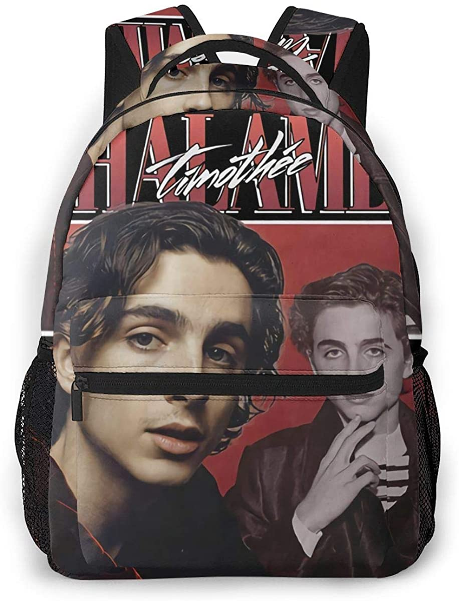 Timothee Chalamet, 90'S, Vintage Diaper Bag Multi-Function Waterproof Travel Backpack Nappy Bags for Baby Care Mummy Backpack