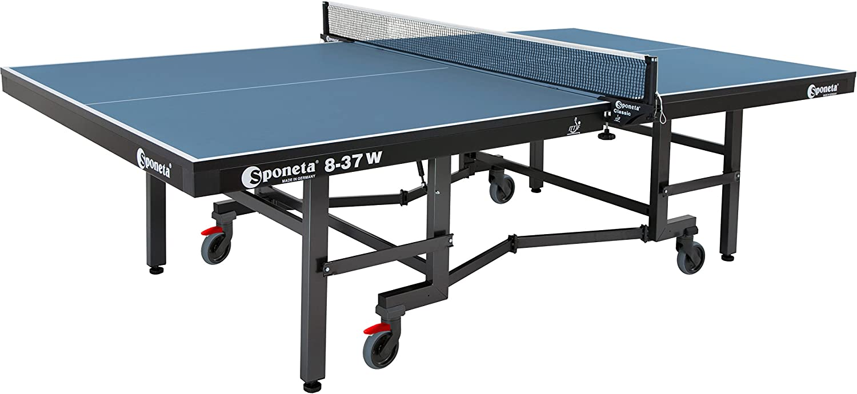 Sponeta Super Compact, 8-37 W Premium Indoor Table Tennis Table, ITTF Tournament Approved