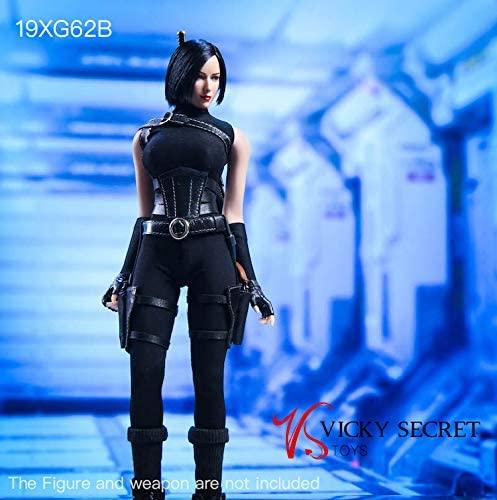 VSTOYS 1/6 Assassin Tight Clothes for Female Action Figure TBLeague Phicen (Black)