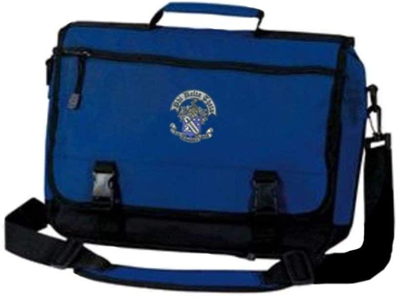Phi Delta Theta Emblem Briefcase Blue