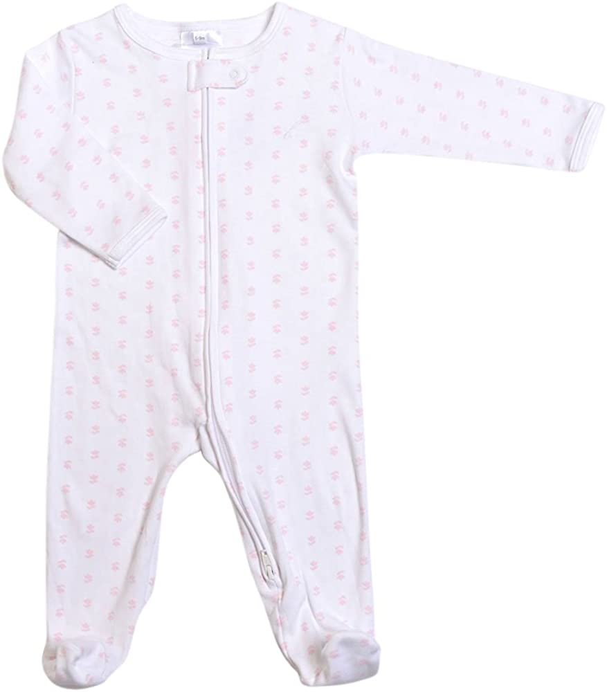 Baby and Toddler Footed Pajama Tiny Tulips