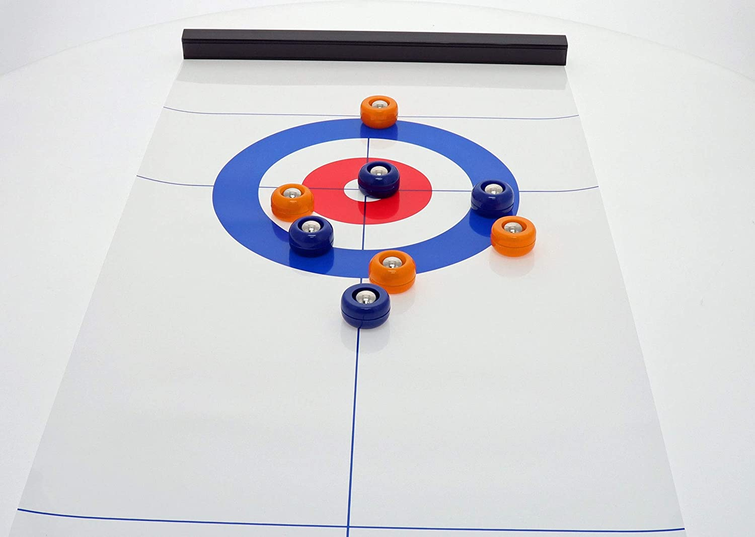 Table Top Curling Game Set, Tabletop Indoor Curling Game, Portable Curling Office Board Game, Family Games for Kids and Adults Teens, Fun Party Shuffle Sports Carnival Indoor Table Games. Great Gift