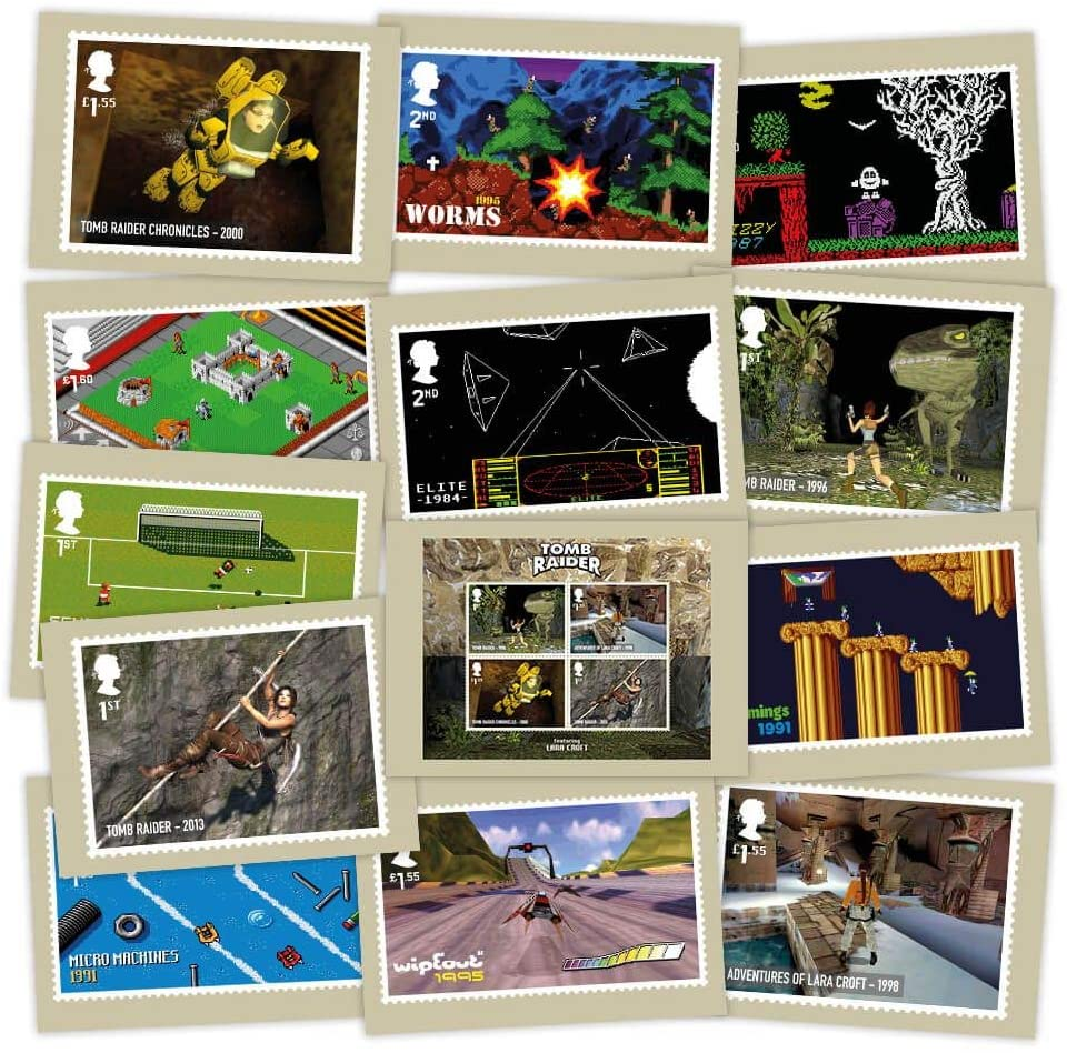 Royal Mail Video Games: Postcards