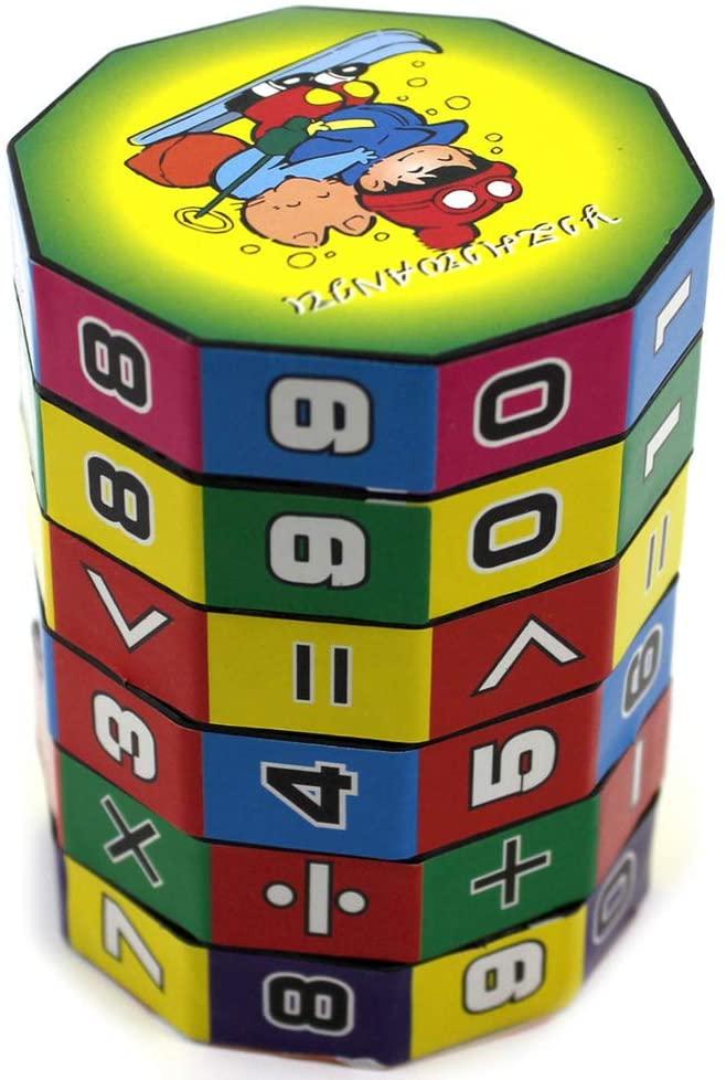 fenam Children Kids Educational Toy Learning Teaching Counting Cube Math Tool Developmental