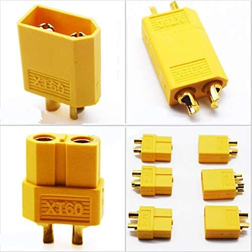 Davitu Terminals - 5/10Pairs XT60 Male Female Bullet Connectors Plug For RC Lipo Battery Wholesale For RC Lipo Battery Quadcopter Multicopter - (Color: 5Pairs)