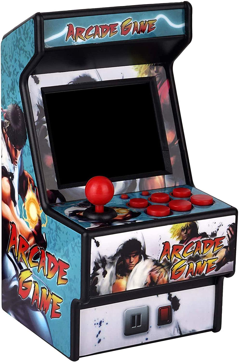 Mini Arcade Game Machine RHAC01 156 Classic Handheld Games Portable Machine for Kids&Adults with 2.8