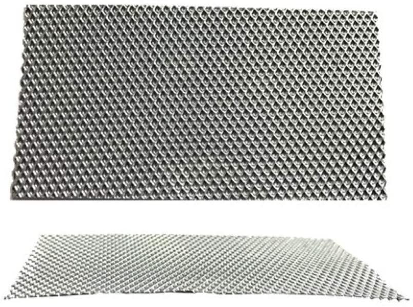 Silver Aluminium Sheet for Guitar Pickup - PP-ALFS