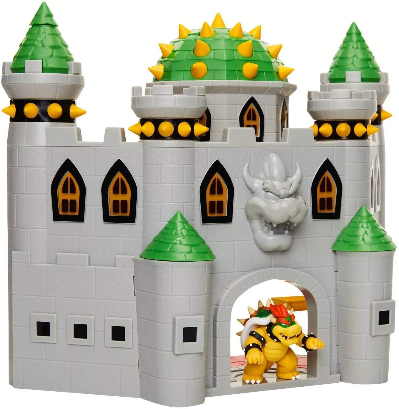 Nintendo Bowser's Castle Super Mario Deluxe Bowser's Castle Playset with 2.5