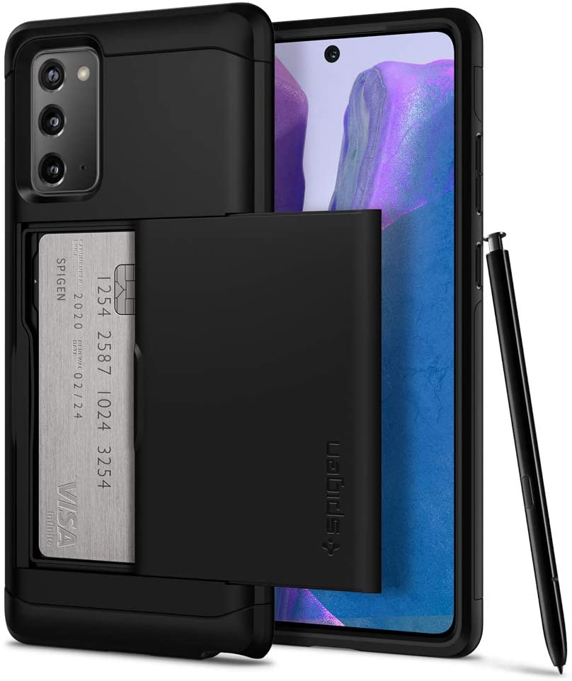 Spigen Slim Armor CS Designed for Samsung Galaxy Note 20 Case (2020) - Black