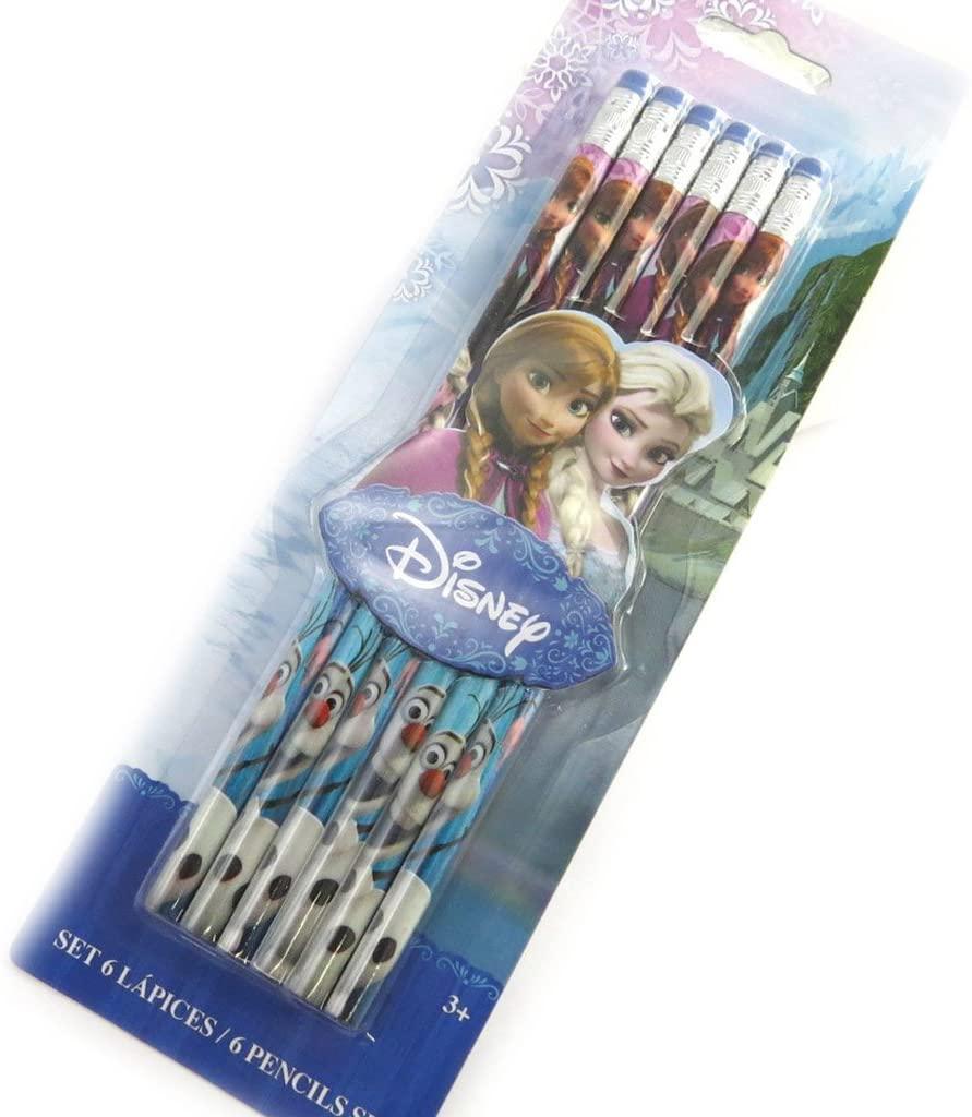 6 Pencils 'Frozen - Reine Des Neiges'multicoloured.