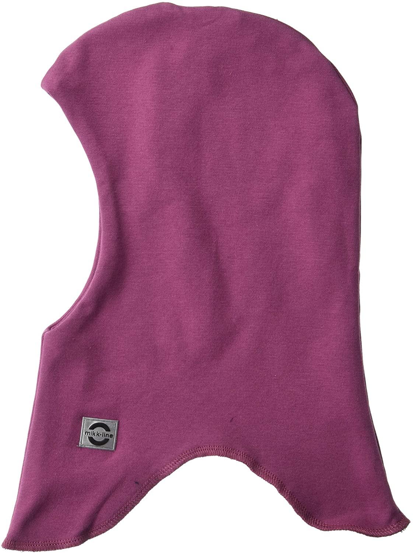 MIKK-Line - Melton Kids & Baby Fullface Balaclava/Ski Mask, Double-Lined for Extra Warmth, Violet Quartz, 3-4Y
