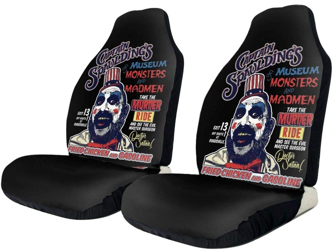 Hhill Swater Captain Spaulding Stylish and Comfortable Car Seat Cover, Flat-Type Universal Car Seat Cover