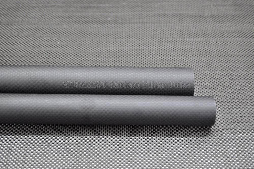 U.S. Carbon Fiber Tube 3K OD 16mm - ID 12mm 13mm 14mm 15mm X 1000mm Length 100% Full Carbon Composite Material/Pipes. Quadcopter Hexacopter. RC Plane/RC DIY WHABEST (1pcs 16x12x1000mm Matte)