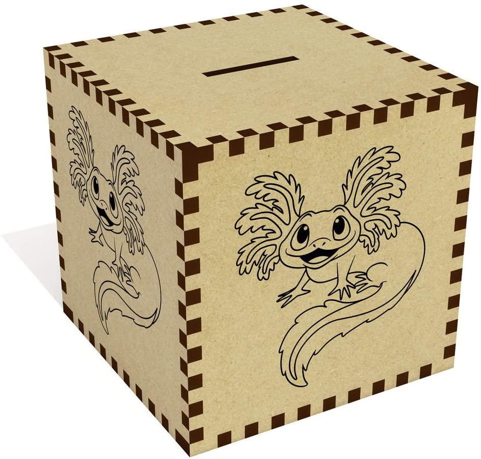 Azeeda Large 'Cute Axolotl' Money Box / Piggy Bank (MB00057476)