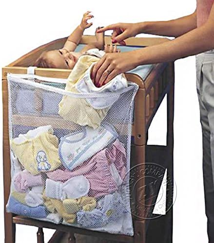 NPLE--Laundry Basket Practical Baby Crib Bed Clothing Storage Bag Daily Necessities