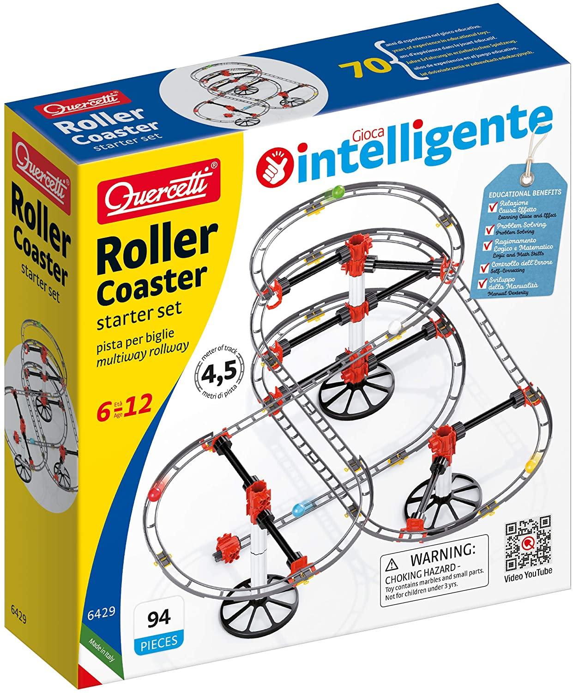 Quercetti 6429 Rollercoaster Starter Set 6429-Rollercoaster, bunt