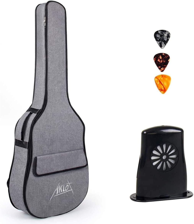 AKLOT Acoustic Guitar Full Size 41 inch+Guitar Gig Bag for 41