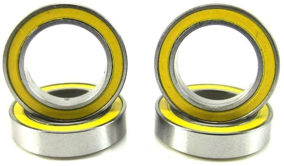 Traxxas 5120 12x18x4mm Replacement Precision Ball Bearings 6701-2RSYE (4)