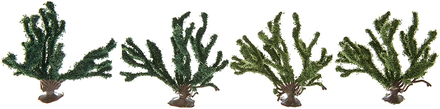 Busch 6065 Summer Bushes 4/ HO Scenery Scale Model Scenery
