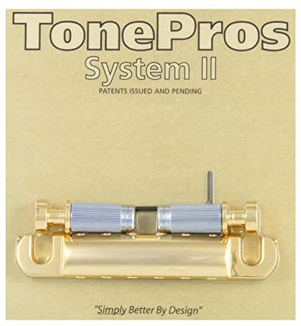 TonePros T1ZS-G Locking Stop Tailpiece