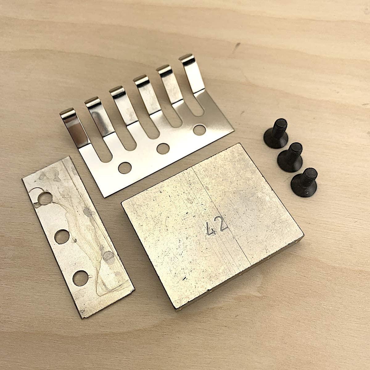 Tremolo Block For Tremolo LockMeister and Schaller Tremolo 42 mm - Nickel 20150142