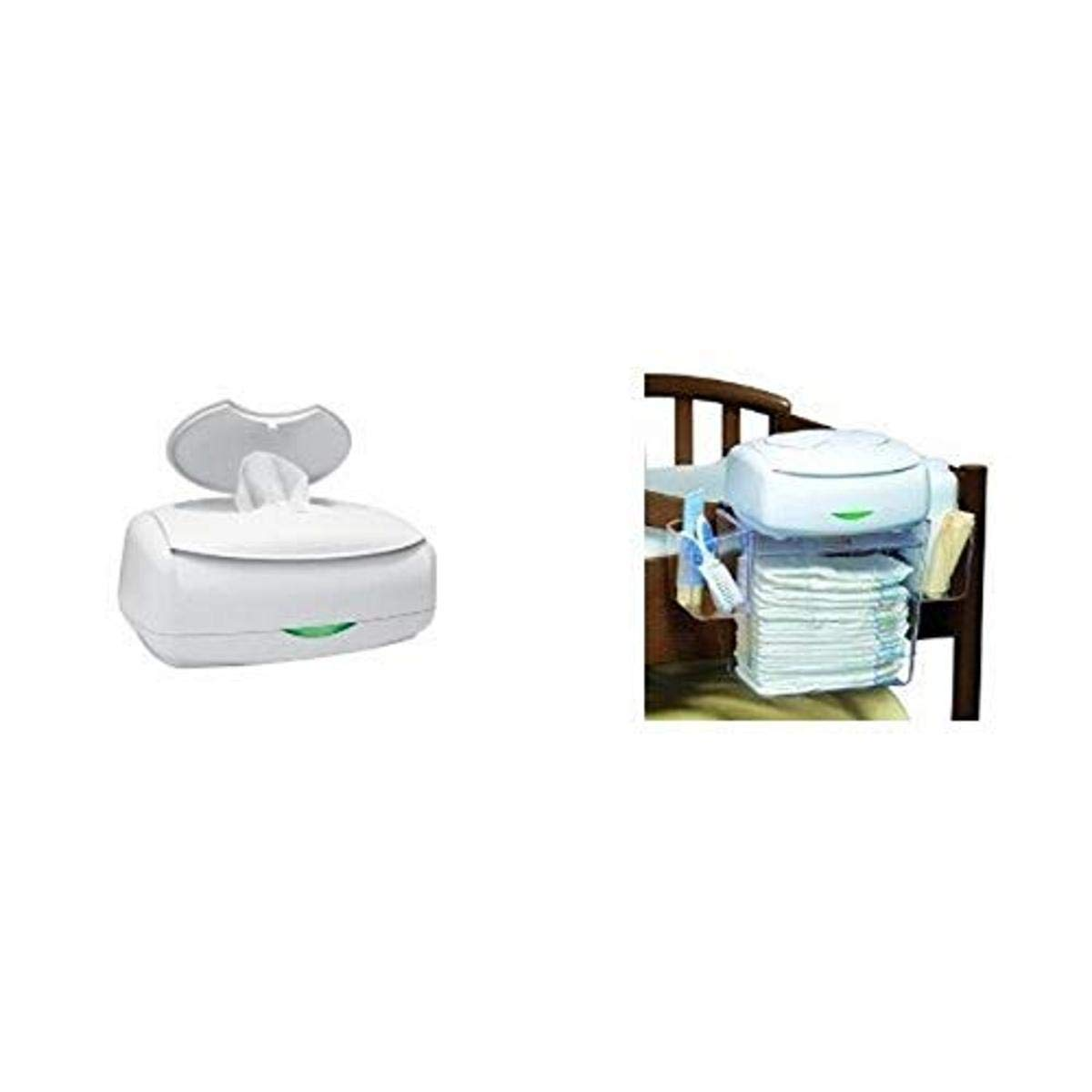 Prince Lionheart Ultimate Wipes Warmer with Diaper Depot Organizer