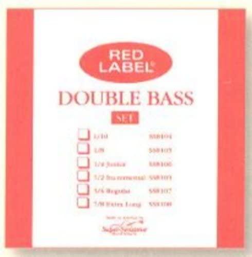 CUERDA CONTRABAJO - Super Sensitive (Red Label 814) (Aluminio) 3ª Medium Bass 4/4 A (La)