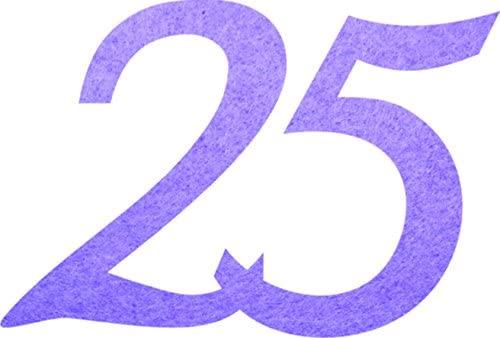 Petra's Craft News GEF332543Confetti, Fliz, Purple, 18x 12x 3cm
