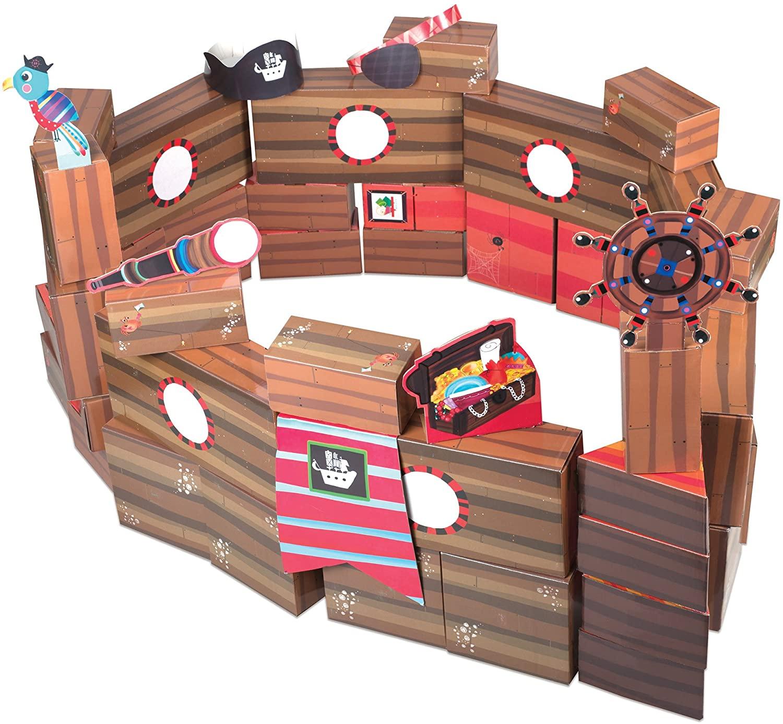 Educational Insights PlayBrix Pirate Adventure