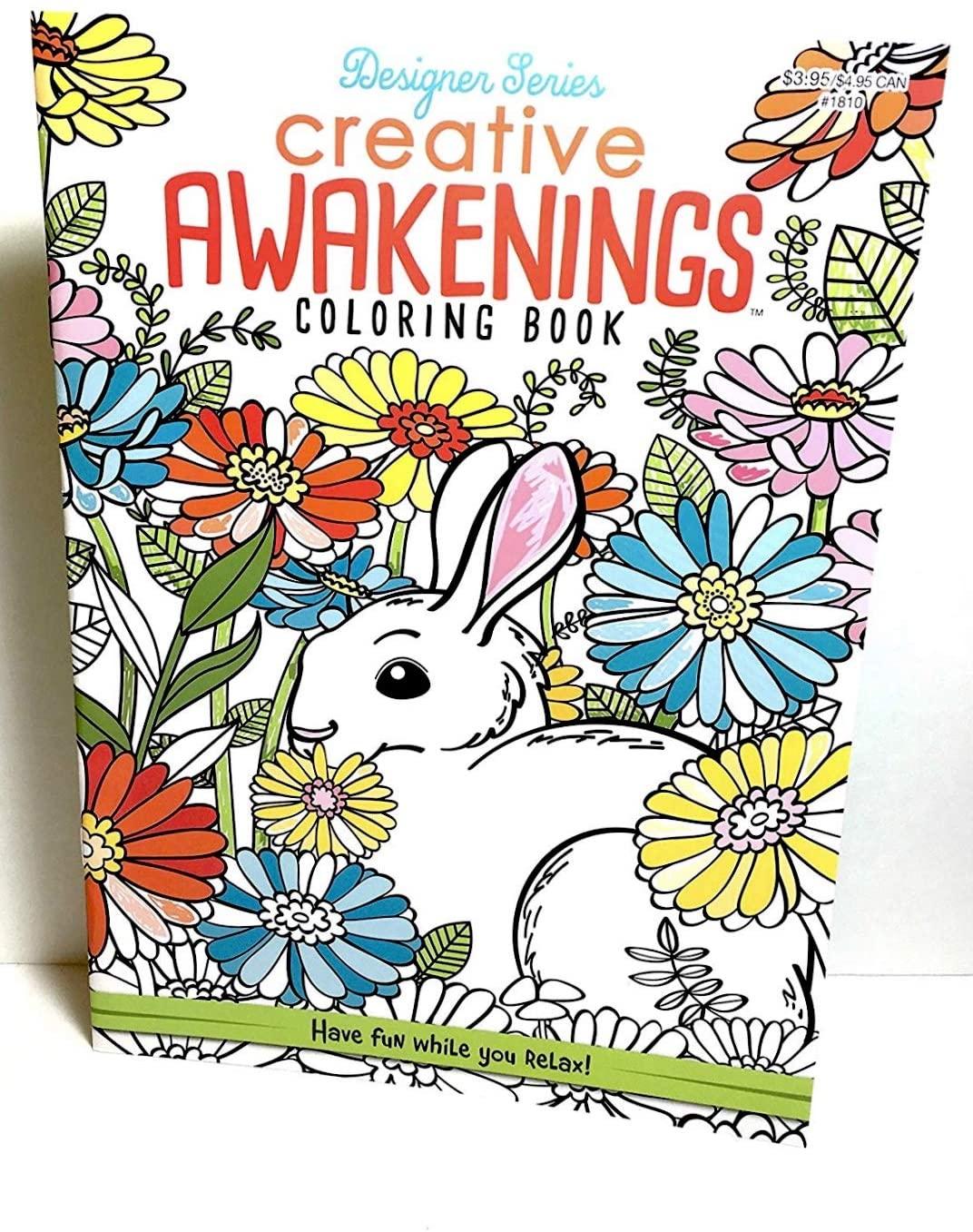 Creative Awakenings Adult Coloring Book