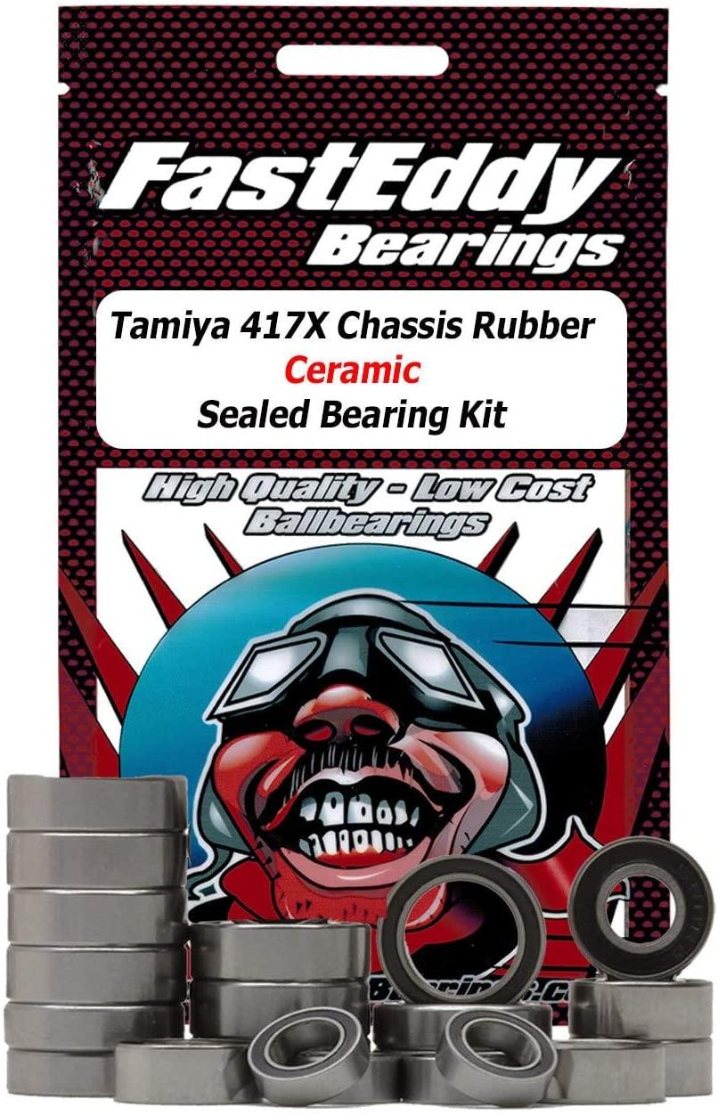 Tamiya 417X Chassis Rubber Ceramic Sealed Bearing Kit