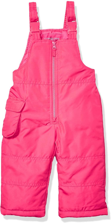 LONDON FOG Baby Girls Classic Snow Bib Ski Snowsuit