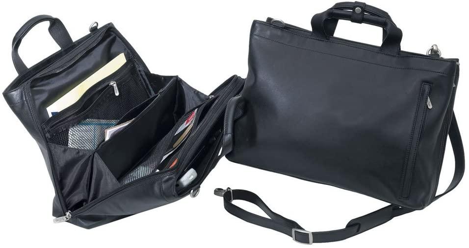 The Express Softside Leather Handbag Briefcase (Bellino)