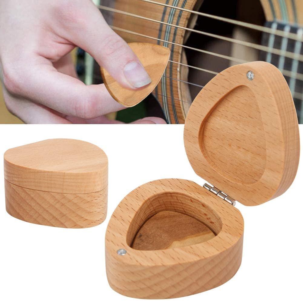 Fun Plectrums Case, Portable Durable Guitar Pick Box, for Storage Guitar Player
