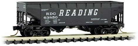 Micro Trains Line N 33' Twin Bay Hopper Reading - Rd# 63850