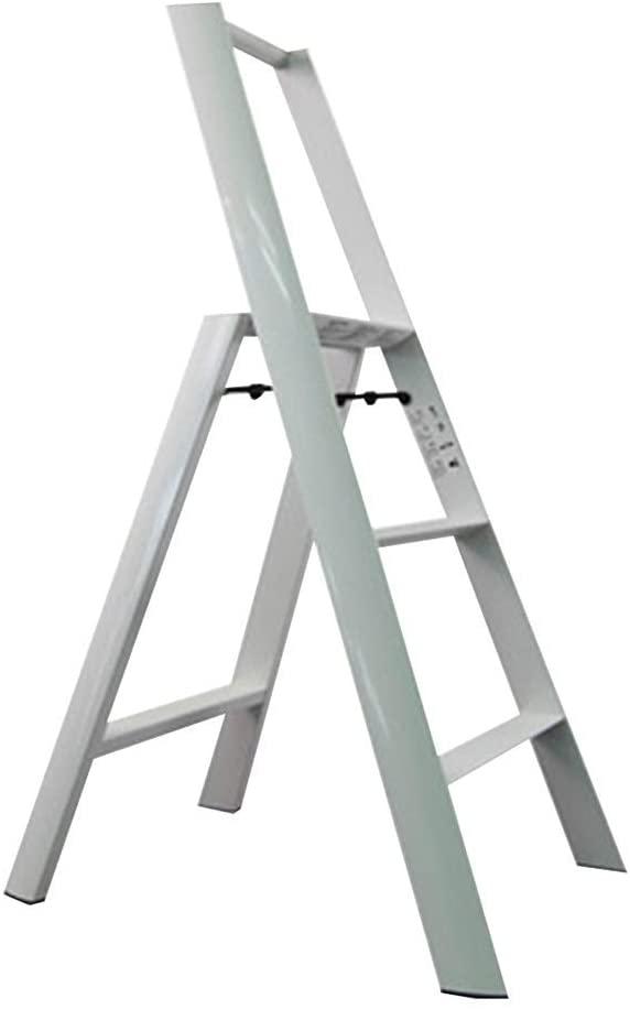 YQS Stools Stool Step Stool Step Stool, Ladder Home Folding Step Stool Aluminum Thickening Ladder Stool,#3