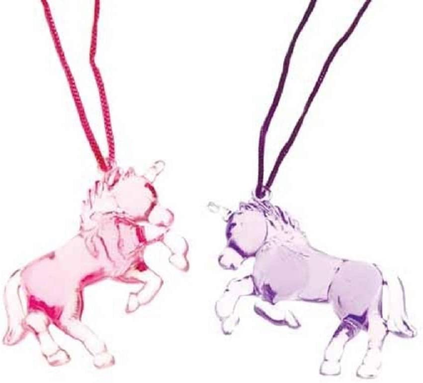 Unicorn Necklace Necklaces - Cord Necklace with Unicorn Pendant - Purple