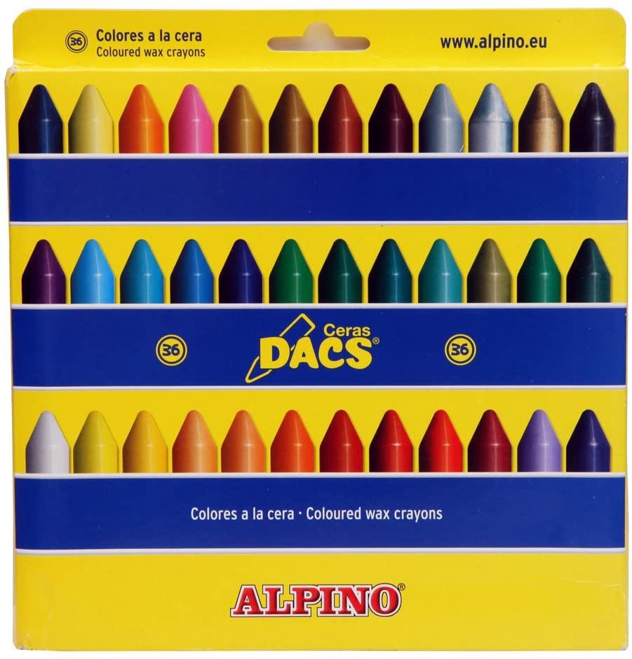 DACS DA050300 – Case with 36 Crayons
