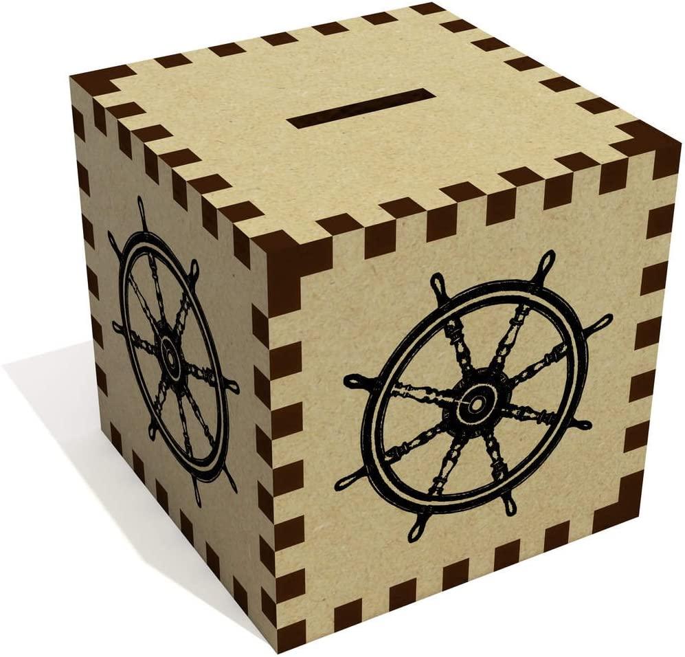 Azeeda 'Boat Wheel' Money Box / Piggy Bank (MB00032179)