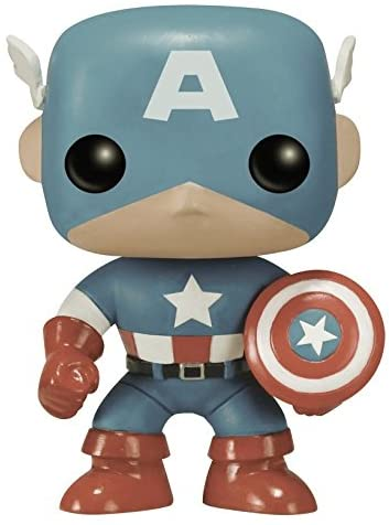 Funko POP Marvel: Captain America Sepia Tone 75th Anniversary Action Figure (DHgate Exclusive)